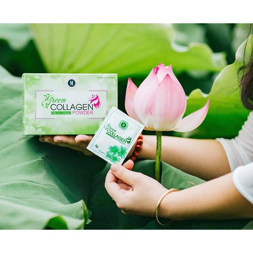Diệp lục collagen - Green Collagen Powder Mommy Beauty