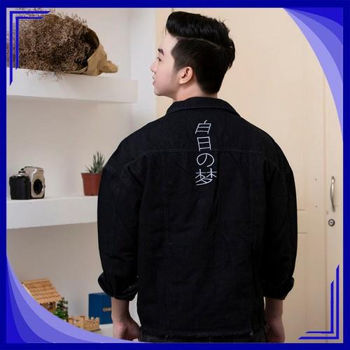 Áo Khoác jean Unisex Gấu Nâu GN261  áo khoác nam đẹp