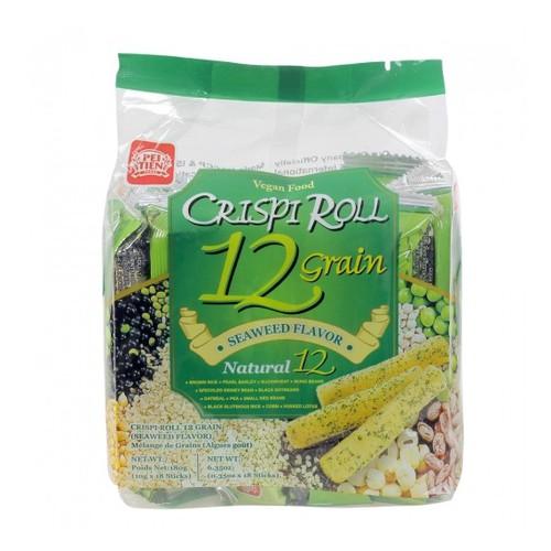 Bánh dinh dưỡng 12 loại ngũ cốc vị rong biển 180g