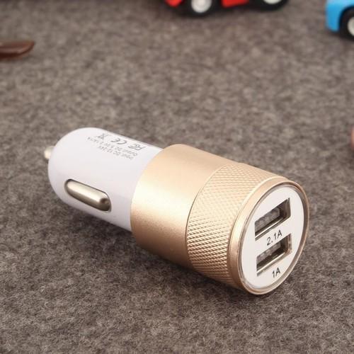 Sạc điện thoại trên ô tô -Tẩu sạc ô tô 2 cổng USB chính hãng Hàng UY TÍN CHẤT LƯỢNG CUNG CẤP BỞI KK_SHOP