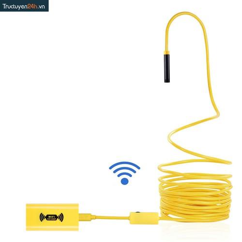 Camera nội soi HD1200p YPC 110 phát Wifi đường kính 8mm dây cứng dài 5m. - 6561916 , 13218867 , 15_13218867 , 730000 , Camera-noi-soi-HD1200p-YPC-110-phat-Wifi-duong-kinh-8mm-day-cung-dai-5m.-15_13218867 , sendo.vn , Camera nội soi HD1200p YPC 110 phát Wifi đường kính 8mm dây cứng dài 5m.