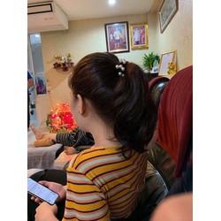 Combo 10c cột tóc ngọc trai cao câp