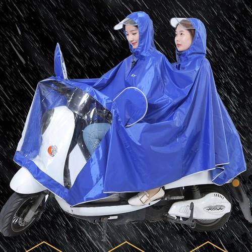 Áo mưa đôi có kính che mặt