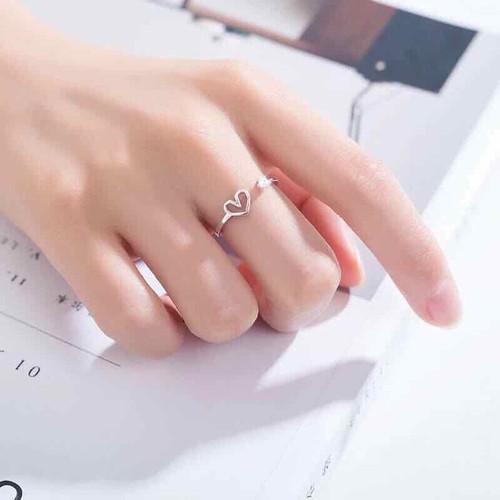 Nhẫn bạc đính đá  nhẫn nữ