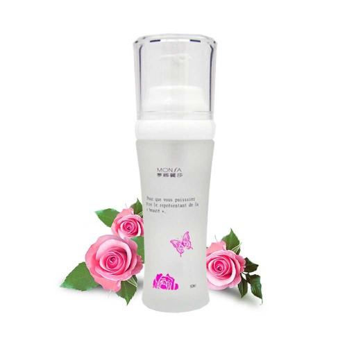 Lotion dưỡng trắng da chống thâm nám tinh chất hoa hồng bulgaria monsa rose whitening face lotion 60ml