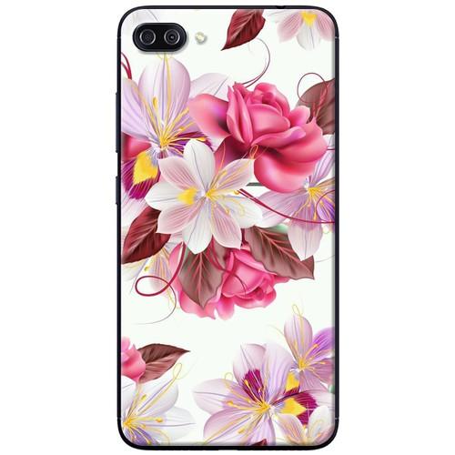 Ốp lưng nhựa dẻo Asus Zenfone 4 Max Pro ZC554KL Bó hoa