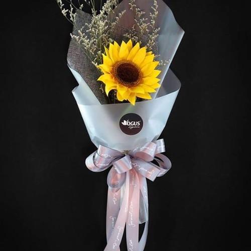 Bó hoa Hướng dương vàng 1 bông - 6714675 , 13400633 , 15_13400633 , 180000 , Bo-hoa-Huong-duong-vang-1-bong-15_13400633 , sendo.vn , Bó hoa Hướng dương vàng 1 bông