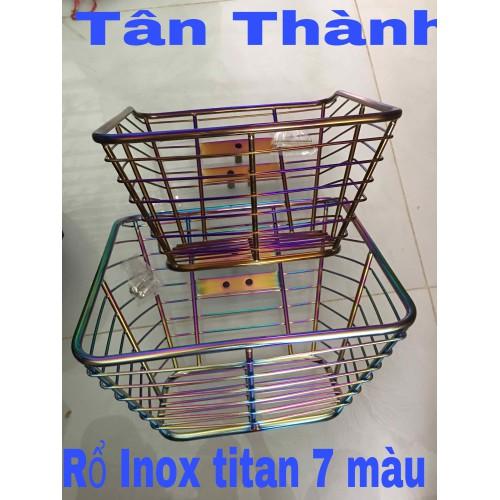 Rổ Inox Titan 7 màu các loại xe: Wave nhỏ-RS-Sirius - 10925033 , 13410205 , 15_13410205 , 249000 , Ro-Inox-Titan-7-mau-cac-loai-xe-Wave-nho-RS-Sirius-15_13410205 , sendo.vn , Rổ Inox Titan 7 màu các loại xe: Wave nhỏ-RS-Sirius