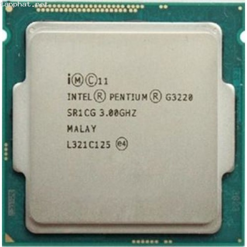 Cpu intel g3220 3.1ghz socket 1150 chạy main h81 và b85