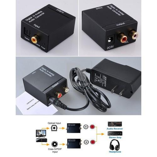 Bộ chuyển đổi âm thanh tivi Optical sang AV loa  amply kèm adapter cáp chuyển - 6708109 , 13393096 , 15_13393096 , 115000 , Bo-chuyen-doi-am-thanh-tivi-Optical-sang-AV-loa-amply-kem-adapter-cap-chuyen-15_13393096 , sendo.vn , Bộ chuyển đổi âm thanh tivi Optical sang AV loa  amply kèm adapter cáp chuyển