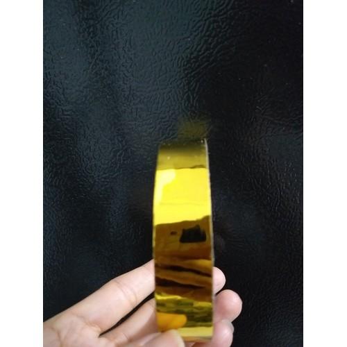 50 met băng keo màu vàng trang trí nhà,làm hoa tết, làm cành vàng lá ngọc,làm đồ handmade