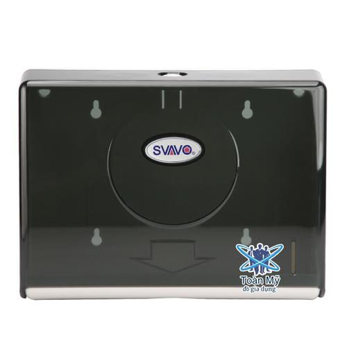 Hộp đựng giấy lau tay treo, gắn tường nhà vệ sinh QM-119 - Nhựa ABS bền, chống nước, đựng được 200 tờ