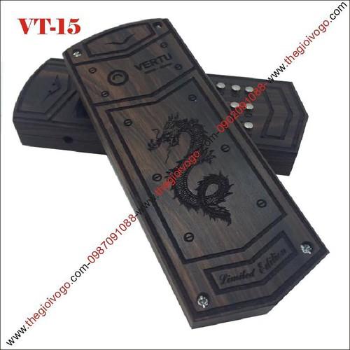 Vỏ gỗ điện thoại 1202, 1280 - VERTU