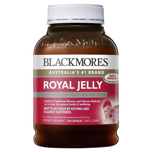 Sữa ong chúa  blackmores royal jelly - 365 viên  xách tay úc