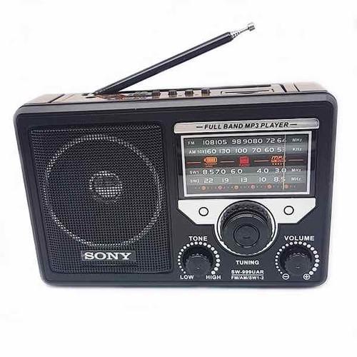 ĐÀI FM RADIO CÓ KHE CẤM USB THẺ NHỚ SW-999 BH 6 THÁNG ĐỔI MỚI