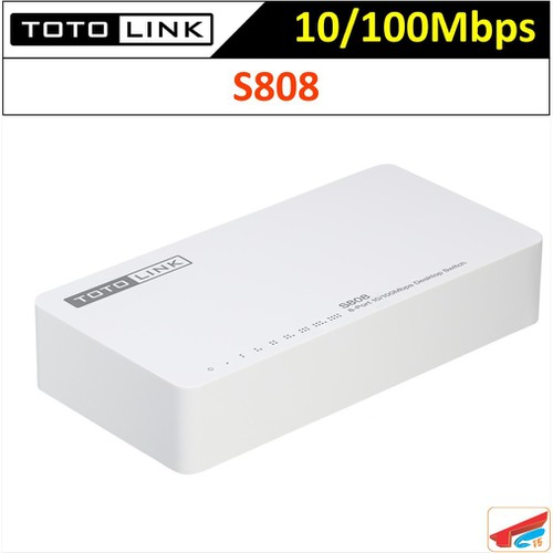 Switch Totolink 8P 10-100Mbps S808 - Bộ chia mạng 8 cổng - 6720961 , 13408388 , 15_13408388 , 220000 , Switch-Totolink-8P-10-100Mbps-S808-Bo-chia-mang-8-cong-15_13408388 , sendo.vn , Switch Totolink 8P 10-100Mbps S808 - Bộ chia mạng 8 cổng