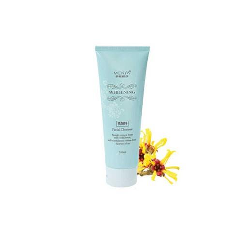 Sữa rửa mặt ngăn ngừa mụn tinh chất hoa cúc monsa zero shiny anti acne whitening cleanser 160ml