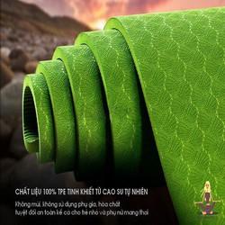 Thảm Tập Yoga TPE 1 Lớp 8mm cao cấp -Tặng túi đựng thảm thời trang