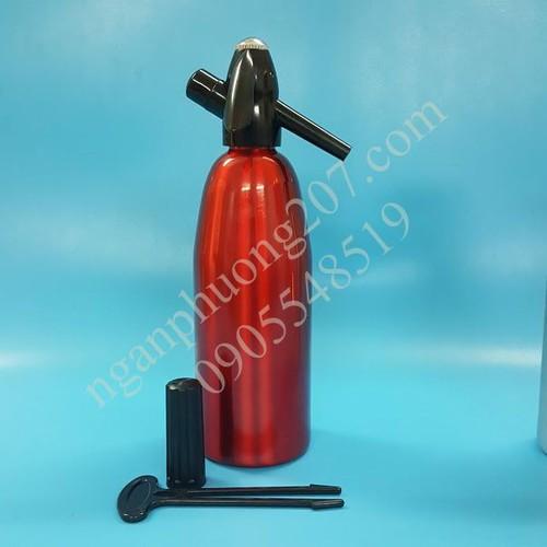 Bình làm nước soda - soda siphon 1 lít hợp kim cao cấp