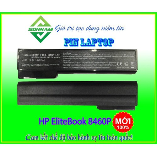 Pin laptop hp elitebook 8460p