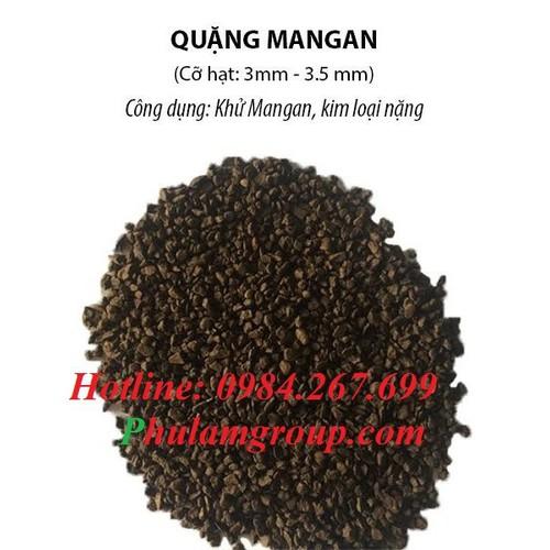 Cát Mangan lọc nước 3mm- 3,5mm