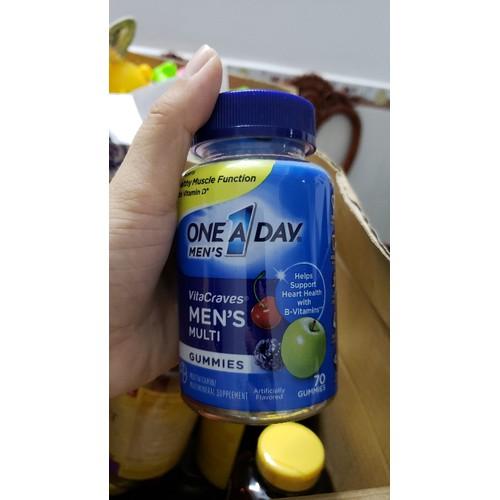 Kẹo Vitamin dành cho nam One A Day