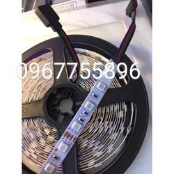 Dây đèn led 12v 5m một cuộn5050 RGB không chống nước