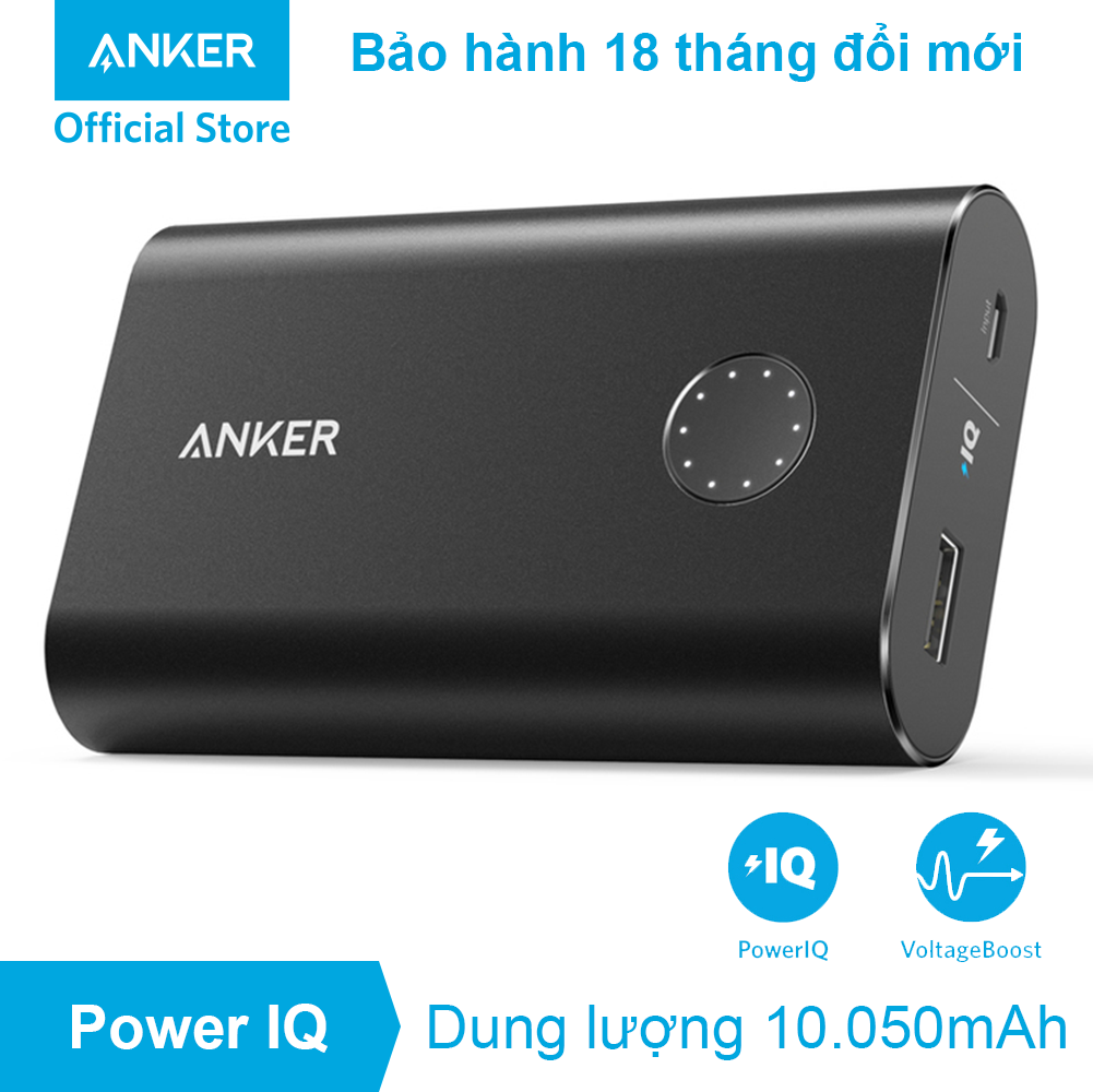 Pin dự phòng ANKER PowerCore+ 10.050mAh Quick Charge 2.0 - A1310 - A1310
