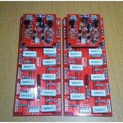 Mạch Công Suất 24 Sò Đỏ Phíp Sợi Thủy Tinh 2 Lớp Điện Áp Cao - 1 Cặp