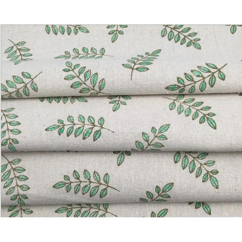 Vải bố họa tiết chùm lá khổ 1,5m x 1m