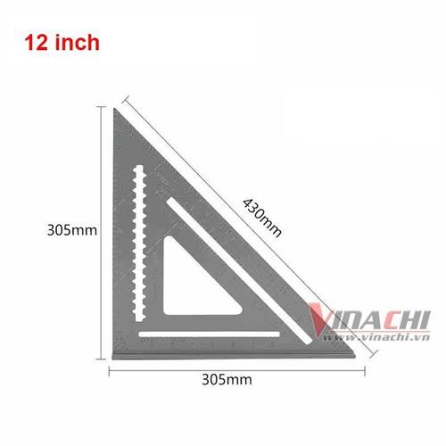 Thước mòi Pivot nhôm-12 inch