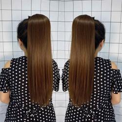 tóc cột thẳng