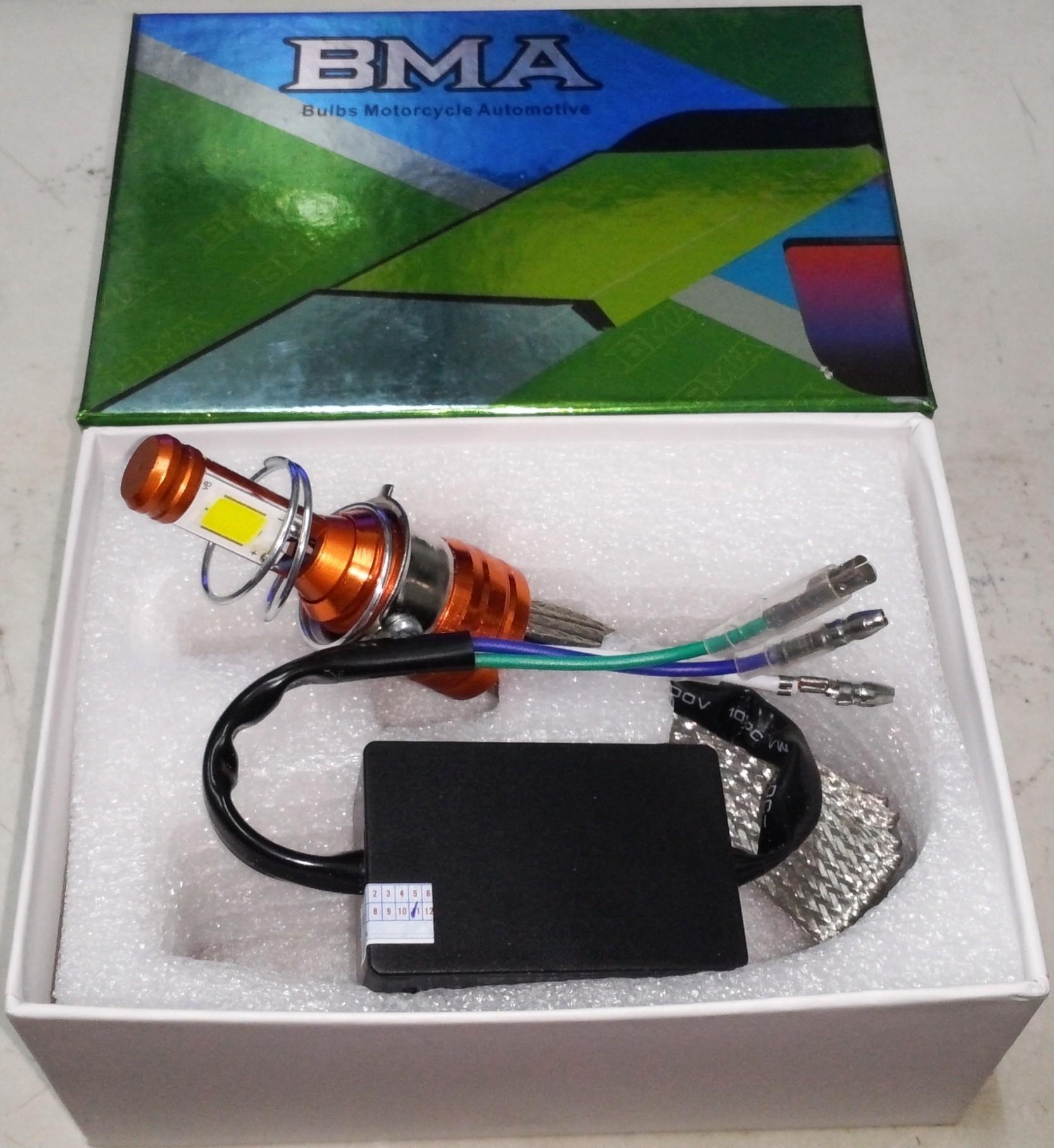 BMA LED Cao cấp - Bóng đèn Led xe máy chân M5 - 12v AC or DC, giá tốt nhất  195,000đ! Mua nhanh tay!