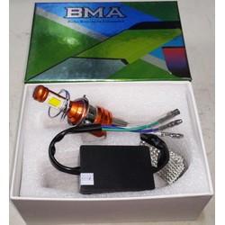 BMA LED Cao cấp - Bóng đèn Led xe máy chân M5 - 12v AC or DC