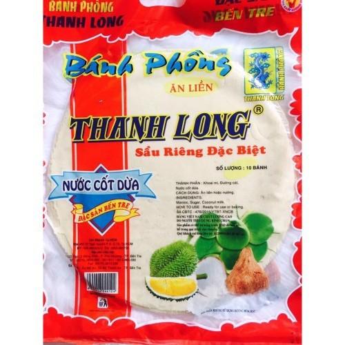 Bánh phồng sữa sầu riêng Thanh Long 420g