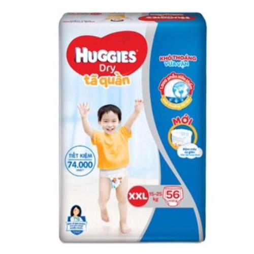Mẫu mới có đệm mây- tã quần Huggies M74 L68 XL62 XXL56 - 6574561 , 13234485 , 15_13234485 , 289000 , Mau-moi-co-dem-may-ta-quan-Huggies-M74-L68-XL62-XXL56-15_13234485 , sendo.vn , Mẫu mới có đệm mây- tã quần Huggies M74 L68 XL62 XXL56