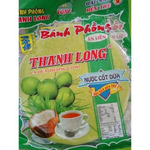 Bánh phồng sữa cốm lá dứa Thanh Long 420g