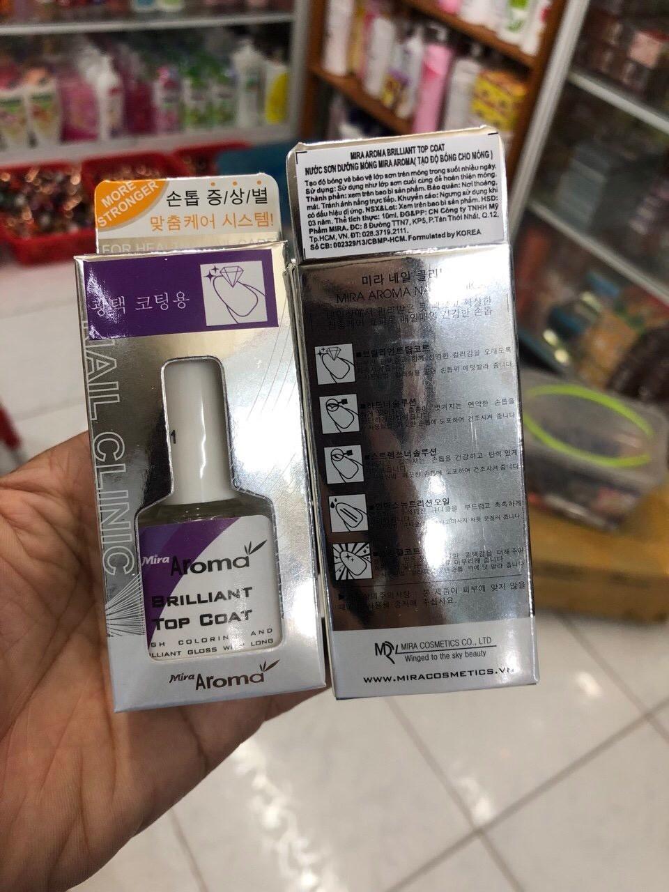 nước sơn dưỡng móng aroma - 423 giá rẻ