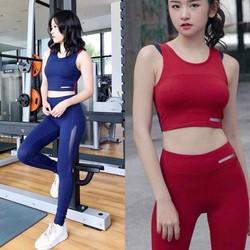 Bộ quần áo thể thao tập Gym yoga