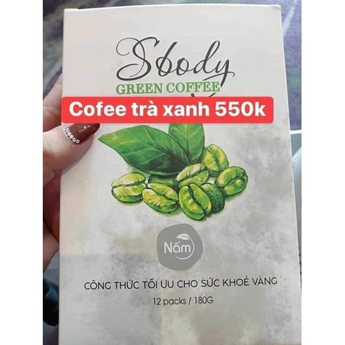 cà phê xanh giảm cân Sbody green coffee Nấm