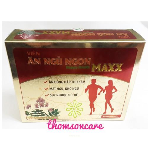 Viên ăn ngủ ngon Happy Health MAXX - 4544236 , 13238569 , 15_13238569 , 185000 , Vien-an-ngu-ngon-Happy-Health-MAXX-15_13238569 , sendo.vn , Viên ăn ngủ ngon Happy Health MAXX