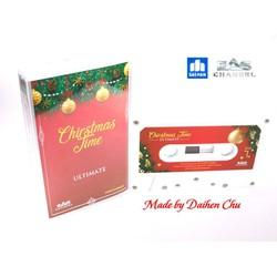 Băng cassette Giáng Sinh Quốc Tế - Christmas Time - Limited White Cassette Edition - Phôi USA
