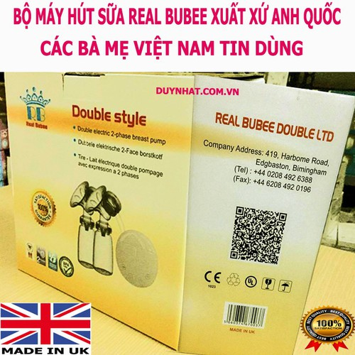 Máy Hút Sữa - Máy Hút Sữa Mẹ - Máy Hút Sữa Real Bubee Anh