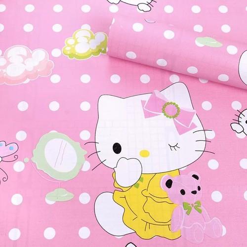 Giấy dán tường kitty mới cuộn 10m x45cm có keo sẵn - 6590862 , 13255556 , 15_13255556 , 99000 , Giay-dan-tuong-kitty-moi-cuon-10m-x45cm-co-keo-san-15_13255556 , sendo.vn , Giấy dán tường kitty mới cuộn 10m x45cm có keo sẵn