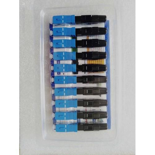 20 đầu fast connector SC  UPC hàng chuẩn chất lượng bảo hành 1 đổi 1