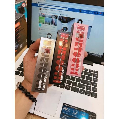 Gậy Chụp Ảnh Bluetooth Mini REMAX XT - P01 Đen - Hồng - Trắng - Xanh - 4545192 , 13249930 , 15_13249930 , 120000 , Gay-Chup-Anh-Bluetooth-Mini-REMAX-XT-P01-Den-Hong-Trang-Xanh-15_13249930 , sendo.vn , Gậy Chụp Ảnh Bluetooth Mini REMAX XT - P01 Đen - Hồng - Trắng - Xanh