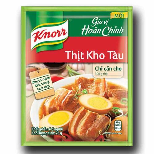 Dây 6 gói bột gia vị kho tàu Knorr