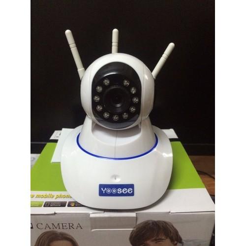 Camera 3 Râu Dùng Phần Mềm Yoosee Xoay 360 Độ Bắt Wifi Cực Khỏe