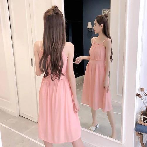 Váy pastel buộc dây quyến rũ