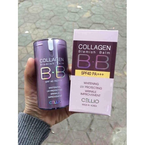 Kem nền BB Collagen Cellio - 6580849 , 13242568 , 15_13242568 , 199000 , Kem-nen-BB-Collagen-Cellio-15_13242568 , sendo.vn , Kem nền BB Collagen Cellio